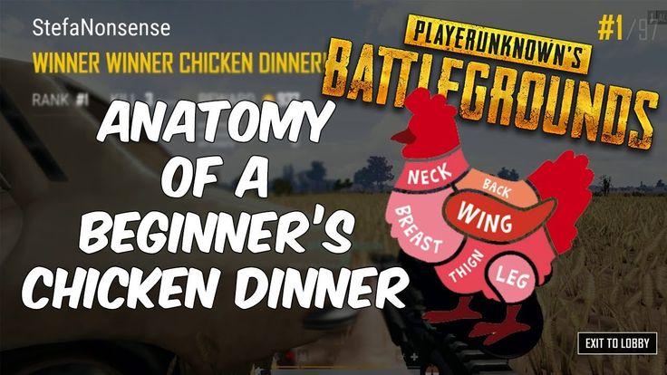 PUBG Guide | Anatomy of a beginner's chicken dinner