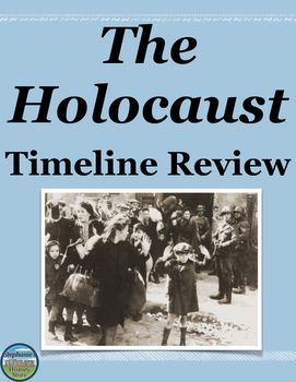a detailed history and timeline of the holocaust Articles, videos and research about the period of the holocaust - the shoa.
