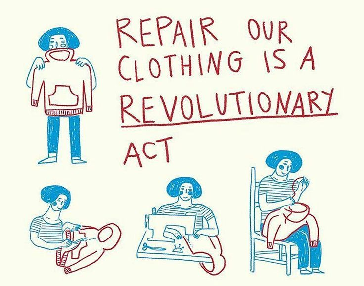 Kıyafetlerin düşünülmeden alınıp atıldığı günümüzde onları tamir etmek kendi içindebir devrim!   @Regrann from @fash_rev -  @antonietacorvalan for the first ever Fashion Revolution fanzine MONEY FASHION POWER. Pre-order yours by 6th January: http://ift.tt/2gGgWbT  10.50 (UK shipping free standard rate international). Printed and shipped in January.	 #fashionrevolution#workerdiaries #fashion #fashionillustration #Regrann