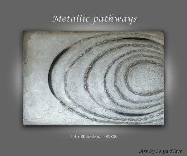 Metallic pathway