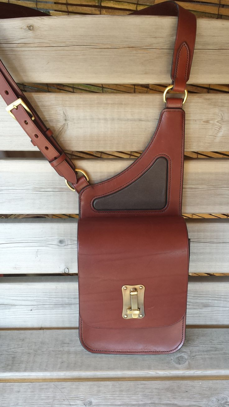 A Saddle Bag Handbag.