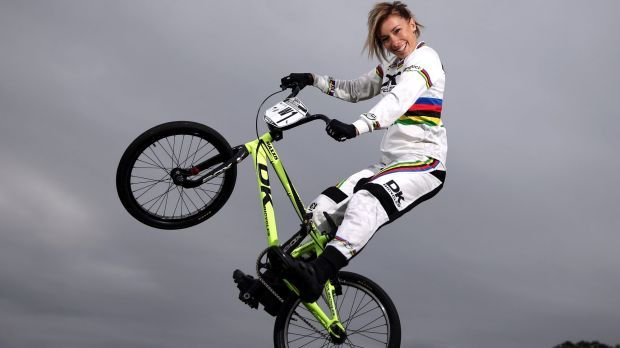 BMX star Caroline Buchanan wants to turn her projected silver medal into Olympic…