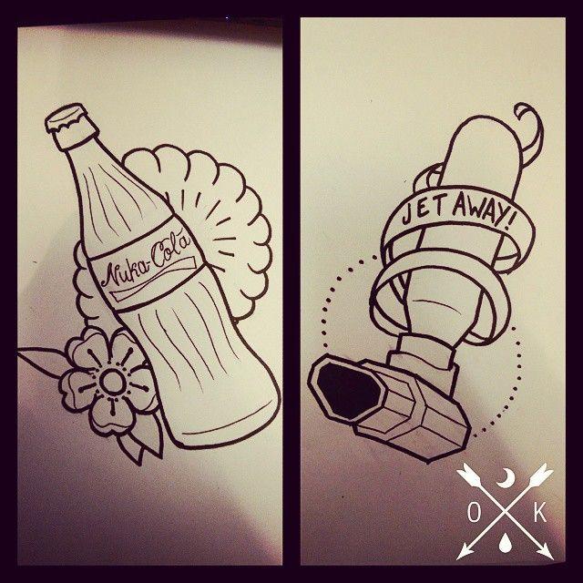 """Résultat de recherche d'images pour """"fallout tattoo"""""""