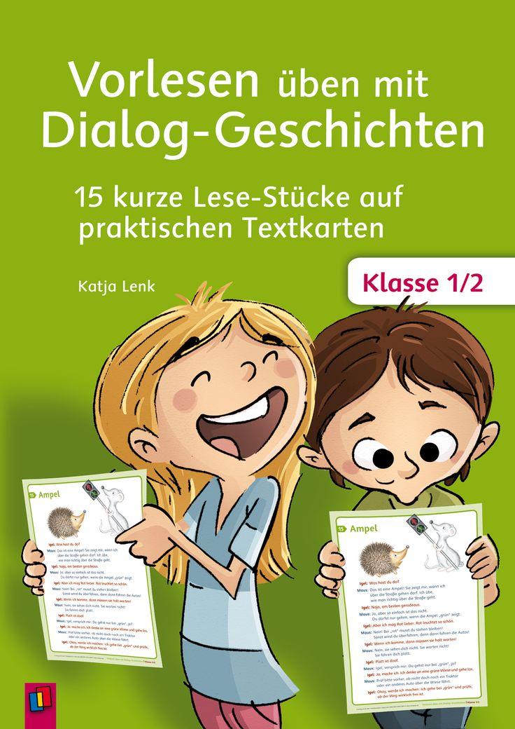 Vorlesen üben mit Dialog-Geschichten - Klasse 1/2