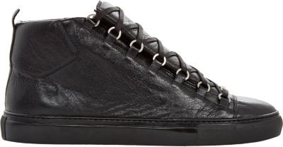 Balenciaga Arena High-Top Sneakers at Barneys New York