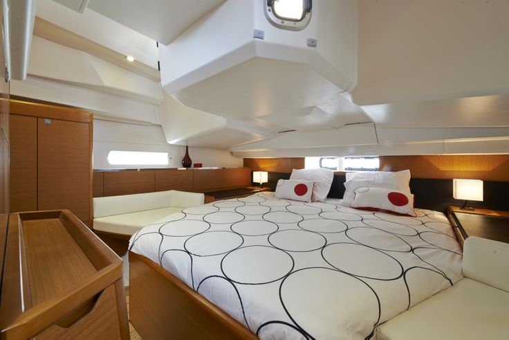 Plenty of space in the Owner's Stateroom