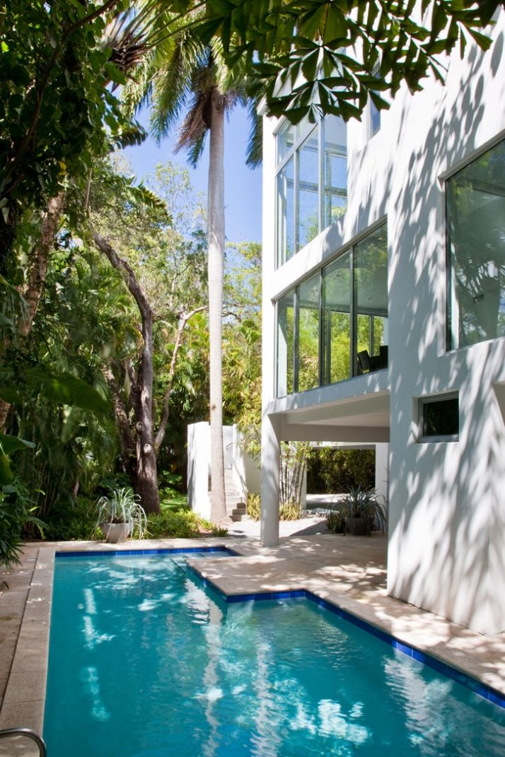 Residence In Miami Fl By Max Strang Architects Beautiful