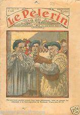 Bergers Musiciens Pays Basque à l'Exposition Bordeaux 1934 France ILLUSTRATION
