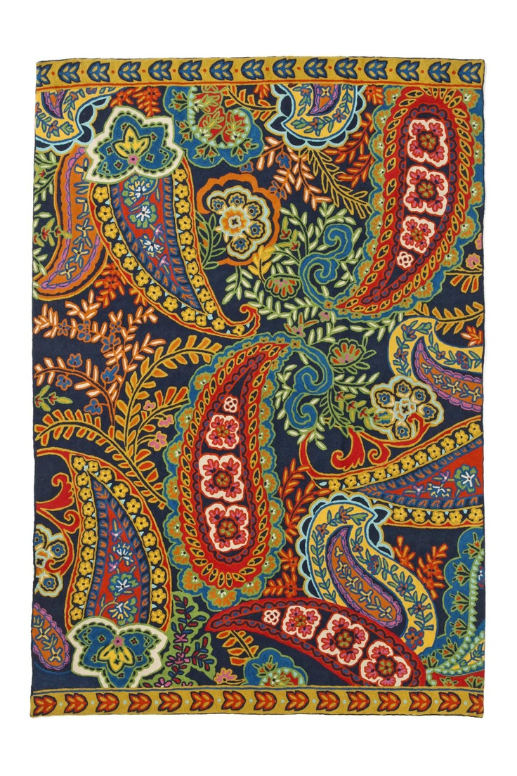Indian style paisley