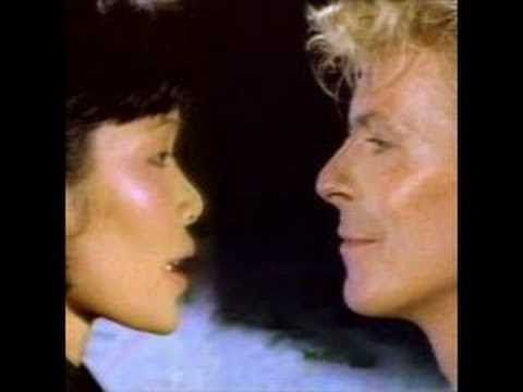 David Bowie - China Girl  ...I hear her heart, loud as thunder...saw the stars crashing down..