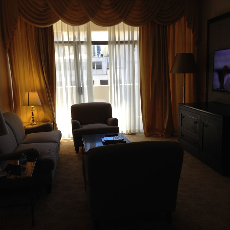 King Suite at the Parmelia Hilton in Perth