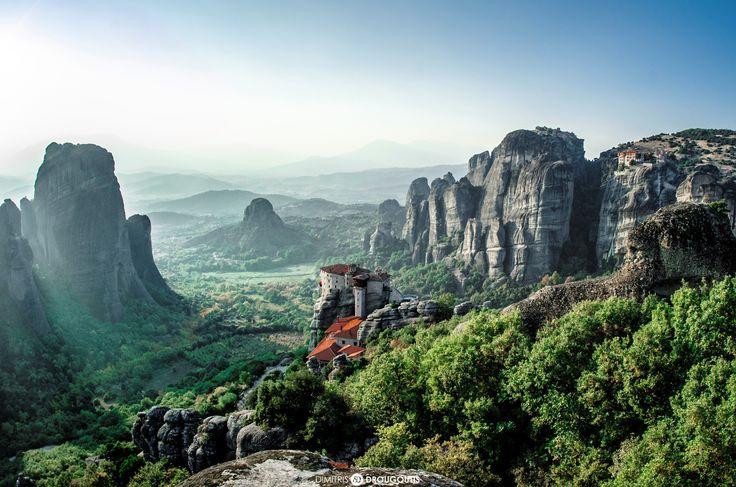 Meteora Monasteries by Dimitris Drougoutis on 500px