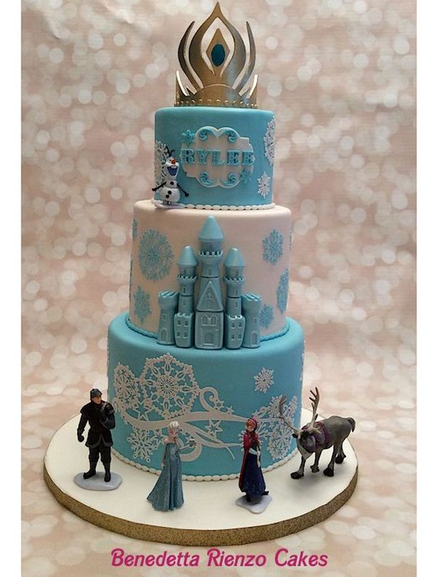 62 best Frozen Cake images on Pinterest Frozen cake Frozen party