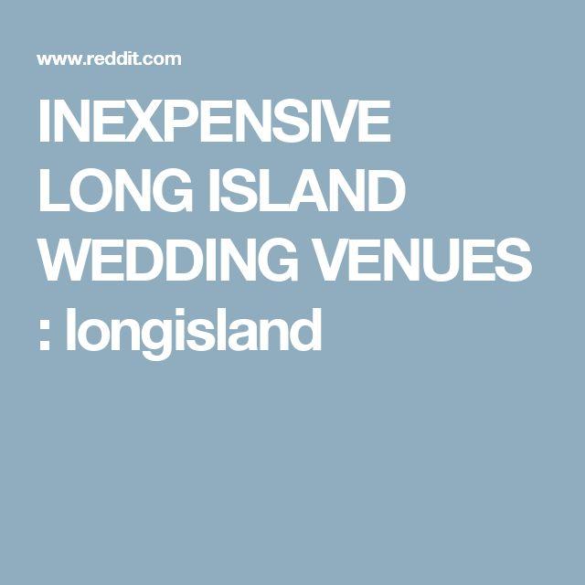 INEXPENSIVE LONG ISLAND WEDDING VENUES : longisland