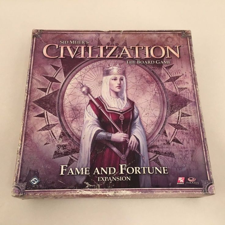 Sid Meier's Civilization The Board Game Fame and Fortune Expansion #FantasyFlightGames