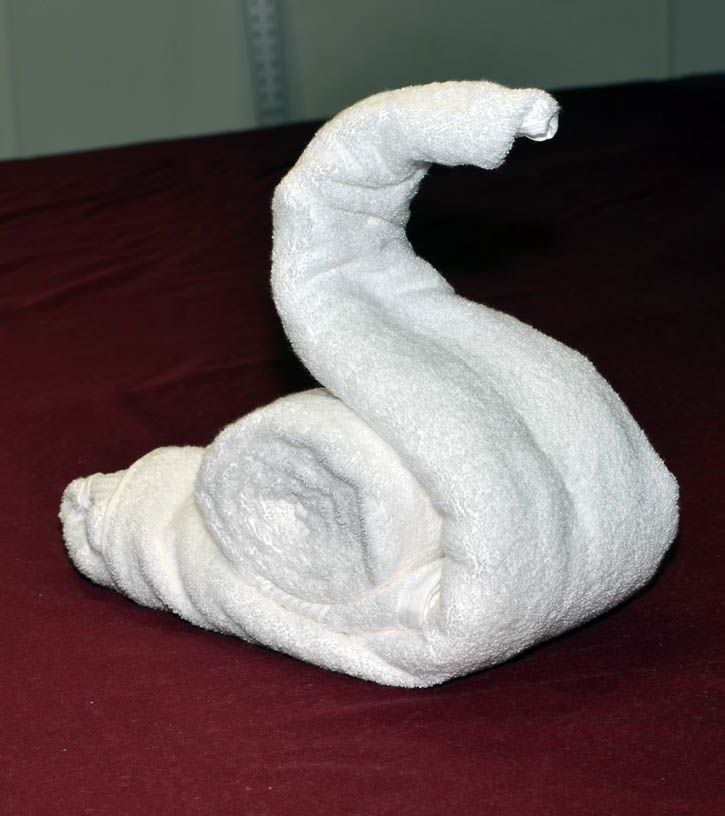 How to make a Towel Snail: Towels Origami, Animal Snails, Folding Guide, Towels Figures, Bath Towels, Towels Snails, Towels Animal How To, Step By Step Towels, Towels Folding