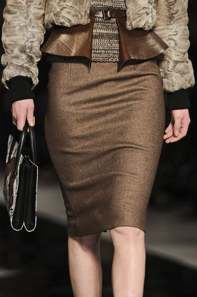 Etro Fall 2012 - Details. The Belts...!