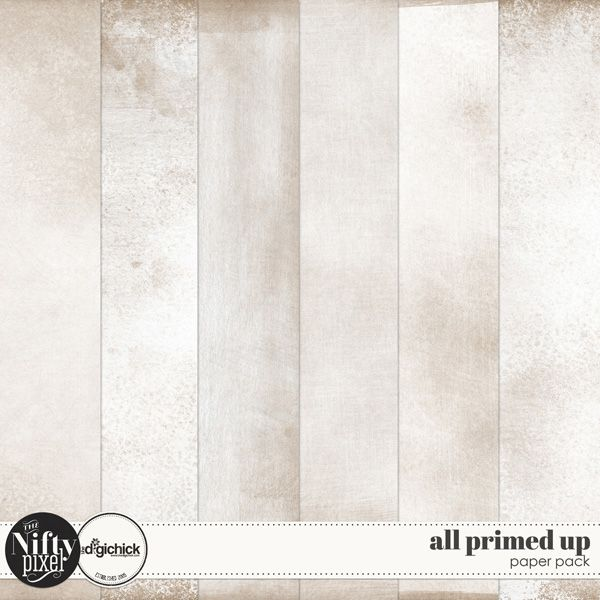 All Primed Up | Paper Pack This pack of papers would be great for using as a basic background to your work. The gesso painted light wash adds a touch of grunge and texture to your digital projects, and are perfect for building layers on top of it.  DOWNLOAD INCLUDES:  6X Kraft Papers with a gesso painted texture effect. All products are saved at 300ppi for optimum printing quality. This is a Personal Use product. Please read our TERMS OF USE.