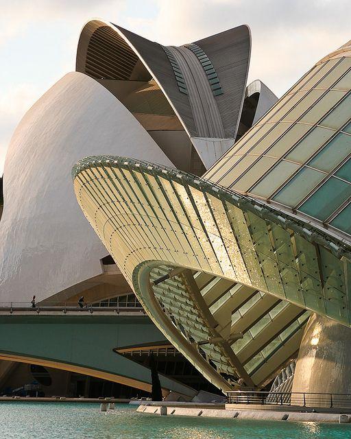 Ciudad de las Artes y las Ciencias - Santiago Calatrava- Valencia (España)