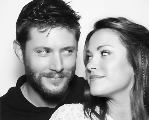 Jensen and Danneel Harris Ackles