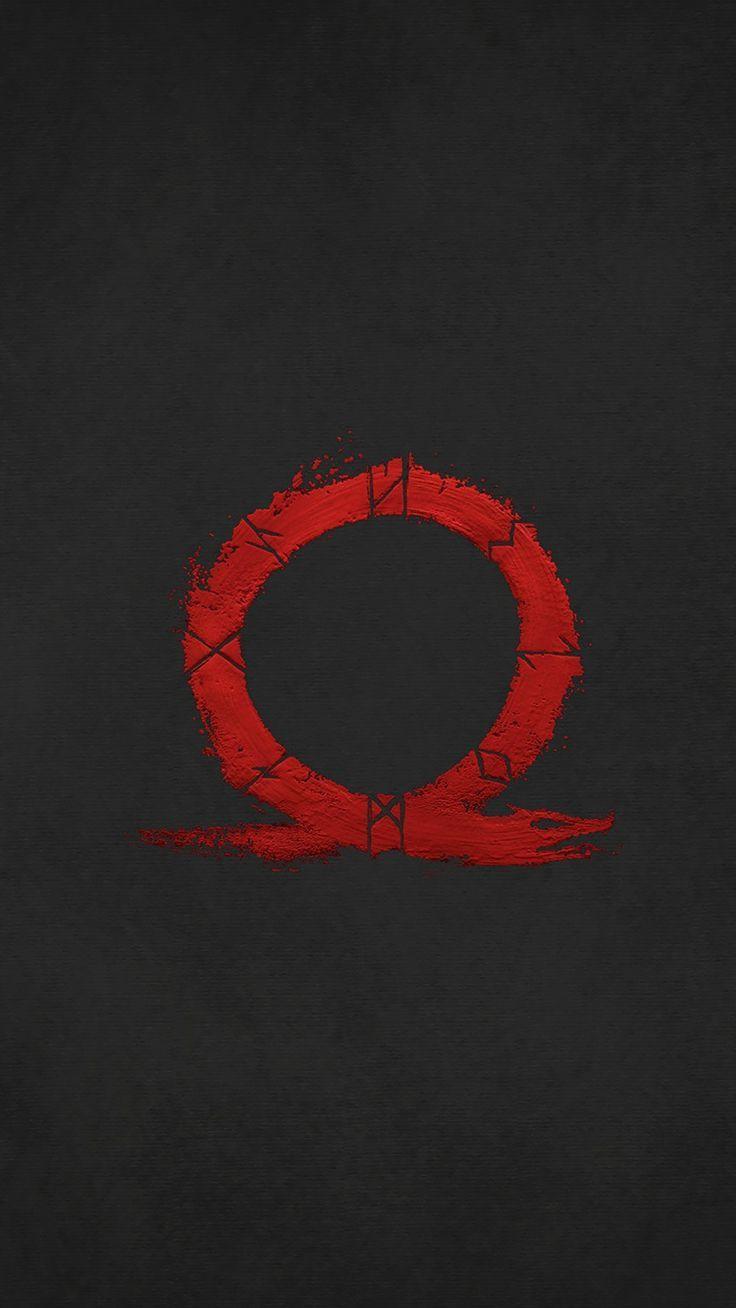 Simplistic God Of War Wallpaper Runic Serpent Shaped As An Omega Symbol Papeis De Parede De Jogos Papeis D Kratos God Of War God Of War God Of War Wallpaper