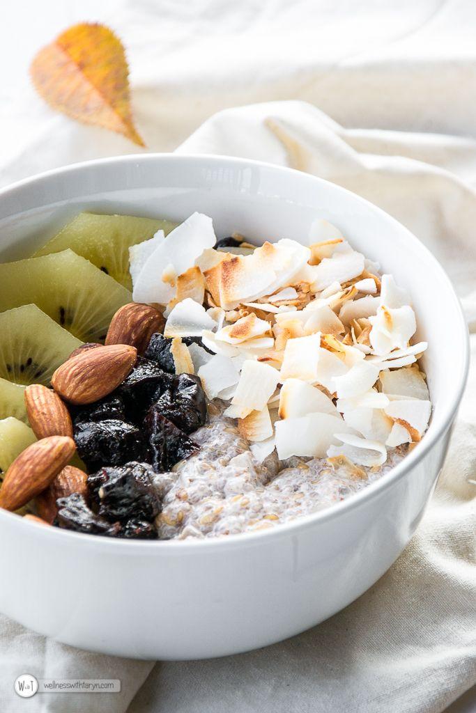 Chia & Flax Seed Breakfast Bowl