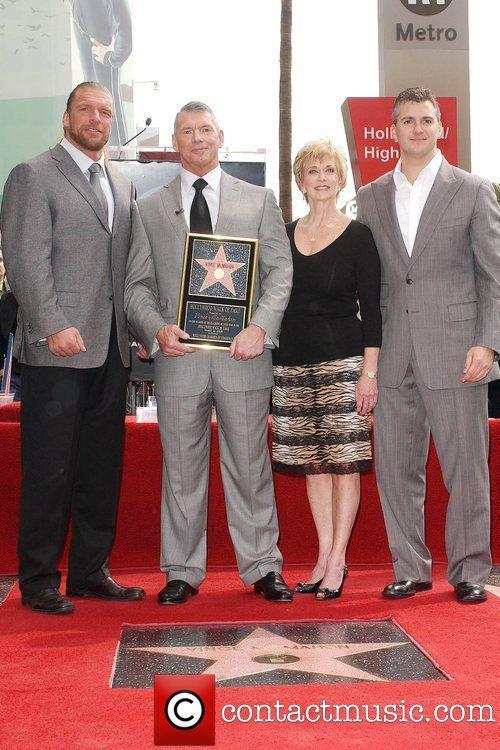 Triple H, Vince McMahon, Linda McMahon, & Shane McMahon