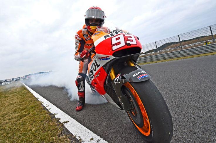Marquez, 2014 World Champion, Japanese MotoGP Race 2014
