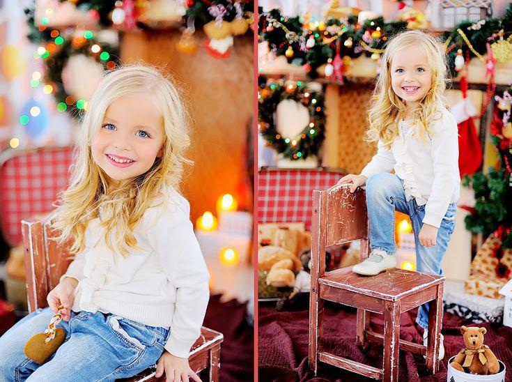 новогодняя фотосессия детей