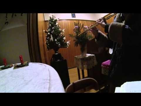 「奇しき星よ」with 光ファイバーのクリスマスツリー