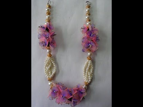 Do it yourself stockings and pearl garland - YouTube