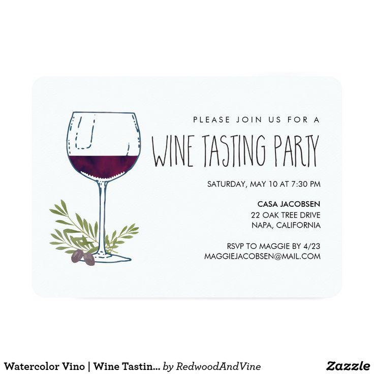 11 best Exceptional Wine Tasting Invites images on Pinterest ...