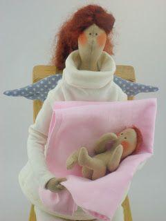 блог авторских текстильных кукол которые создают настроение
