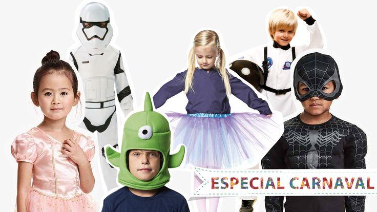 Todos os dias são bons para se mascarar mas, hoje, é normal ir tomar café com o Darth Vader, às compras com a Princesa Elsa. Já tem máscara? + 20 ideias!
