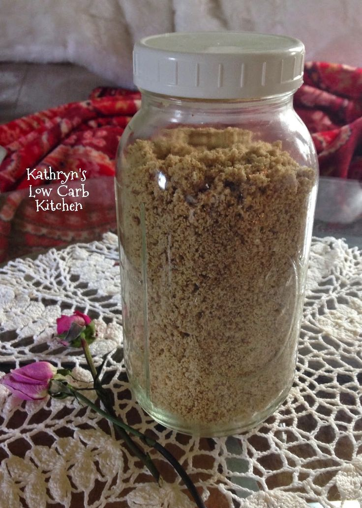 Kathryn's Low Carb Kitchen: ~ Kathryn's Low Carb Baking Mix