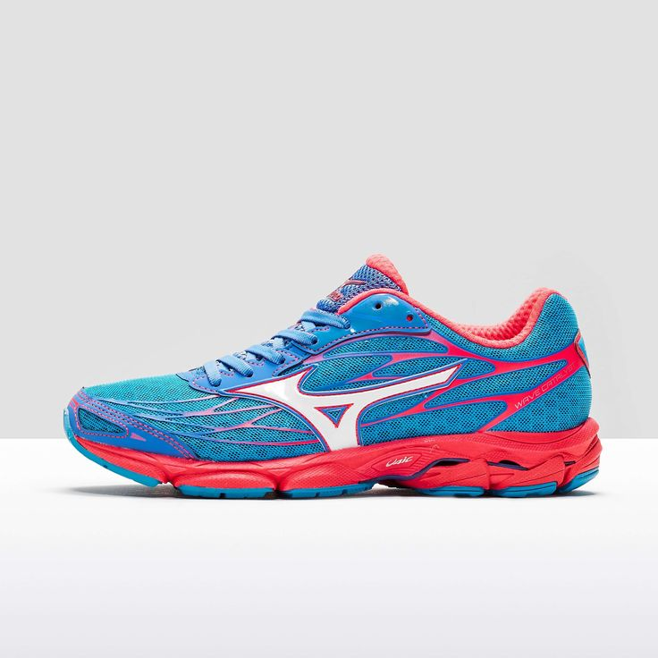 Blue Mizuno Wave Catalyst Ladies Running Shoe - find out more on our site.  Find