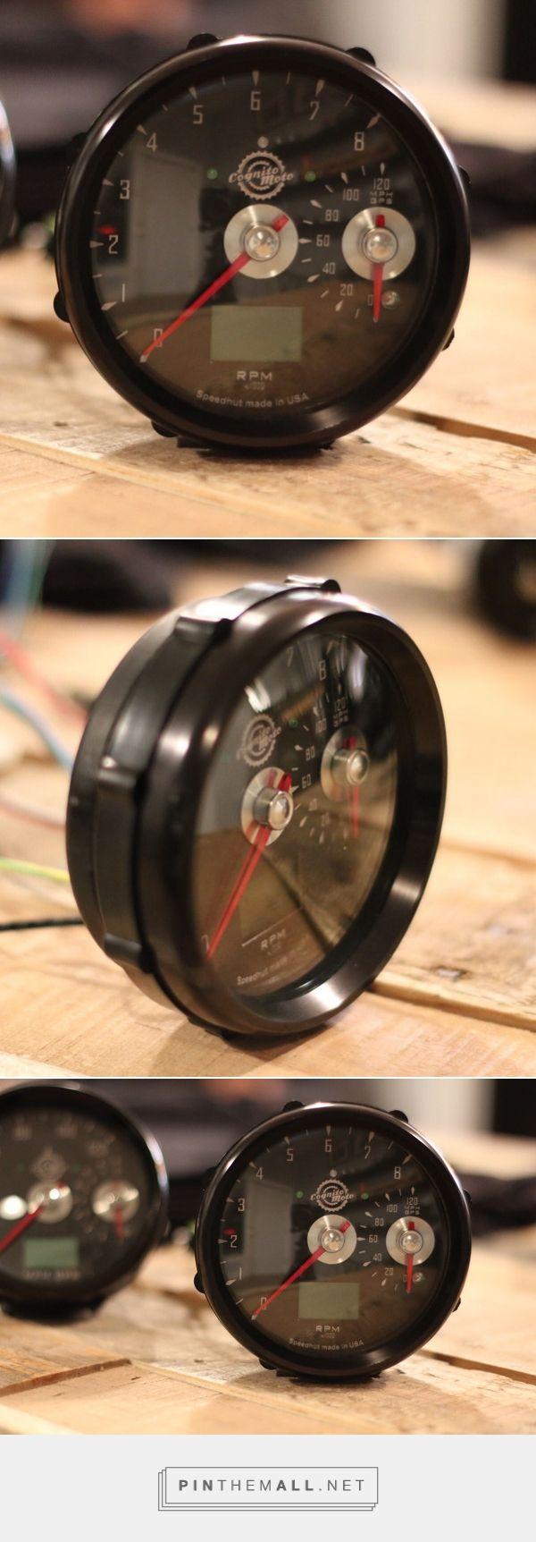 Retro style single gauge.