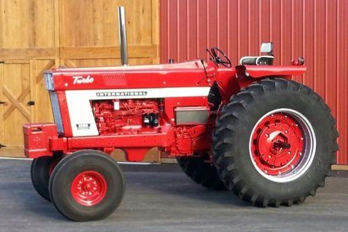 Farmall 1066 Tractor : International farm tractor complete professional