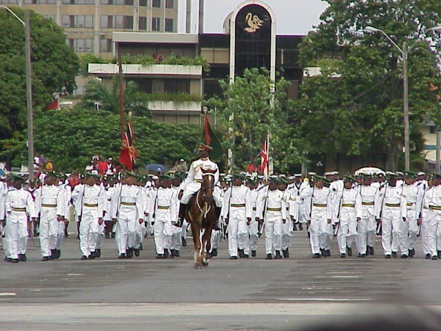 Panoramio - Photo of Independence day parade 3, Port of Spain