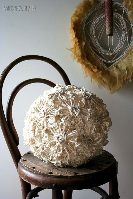 Bloom1 | Flickr - Photo Sharing! Made using a vintage flowerloom #flowerloom #vintagecraft #weaving #craft