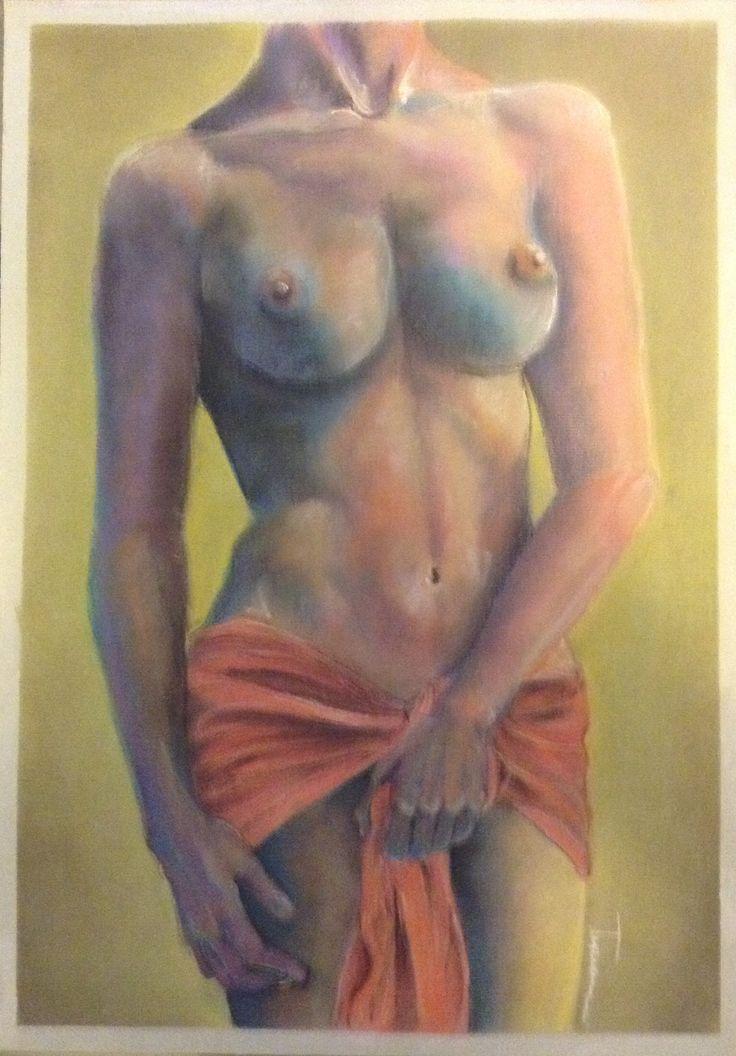 Técnica: Pastel.  Medidas: 50x35 cm.  Autor: Maria Monserrat Tapia Lozano. En Venta. Contacto: music2live_16_@live.com.mx
