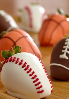 This #sweet treat is a home run for any Dad: hand-dipped berries, fresh Bing cherries, or cookie assortments.