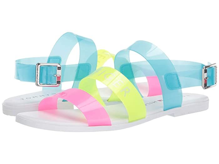 Tommy Hilfiger Kids Ralana Ii Little Kid Big Kid Neon Multi Transparent Girl S Shoes The Tommy Hilfiger K Tommy Hilfiger Kids Girls Shoes Kids Neon Sandals