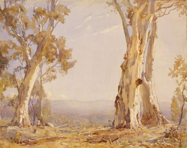 Silver and Grey by Hans Heysen