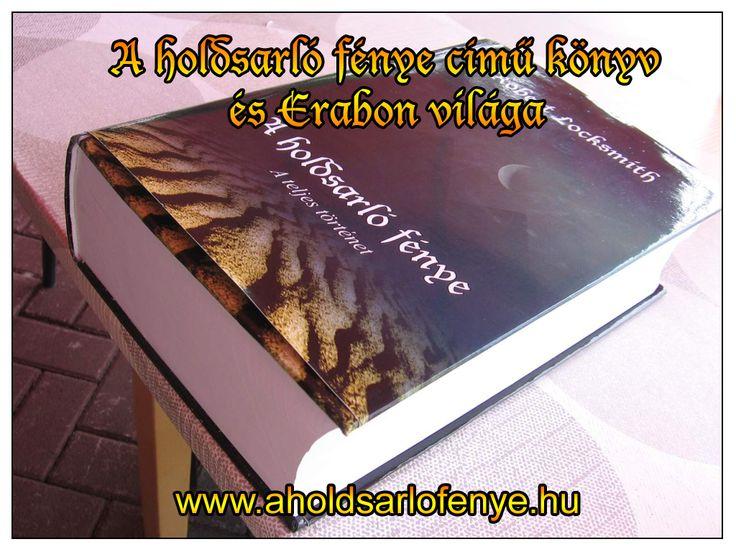 """""""Robert Locksmith • A holdsarló fénye – A teljes történet"""" című könyv Facebook oldala."""