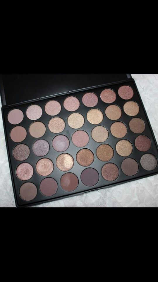 The gorgeous 35T palette from Morphe