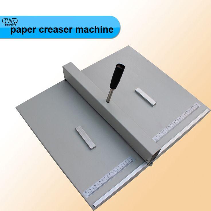 1PC 460mm paper creaser machine,paper creasing machine,photo creasing machine,DC - 460Y book cover creasing machine #Affiliate