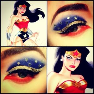 superhero makeup | and i ended up doing two more super hero looks today i did batman and ...