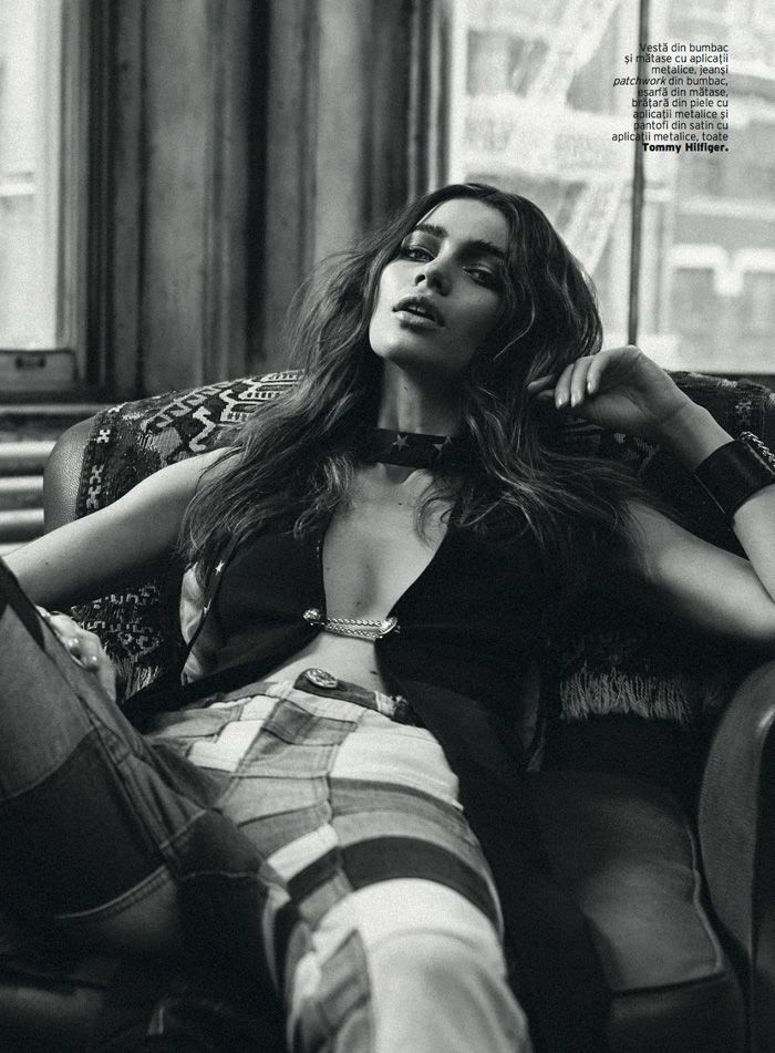 Iulia Cirstea In Lensed By Michael Groeger For Elle Romania May 2015 - 3 Sensual Fashion Editorials | Art Exhibits - Women's Fashion & Lifestyle News From Anne of Carversville