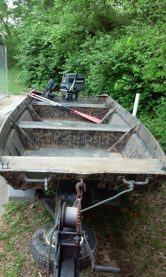 Refitting my 1970 jonboat step 1